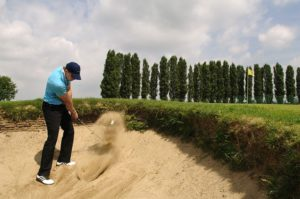 Hitting out of the Sand Trap with Confidence